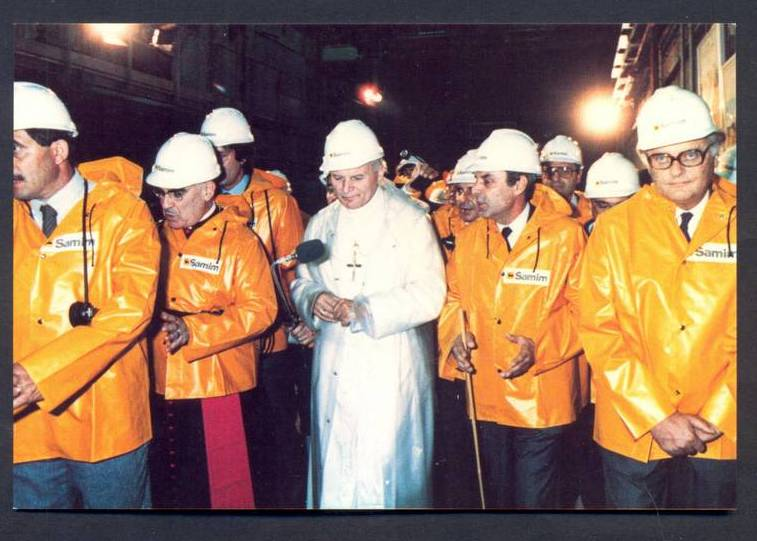 giovanni paolo II iglesias monteponi