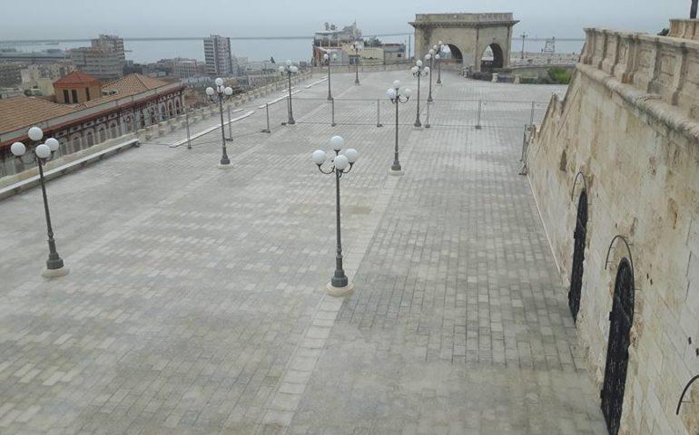 Bastione di Saint Remy, imminente la riapertura. Videosorveglianza prevista in tutta la terrazza