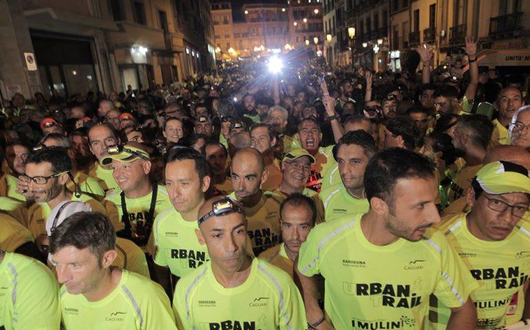 La corsa dei mille nella notte cagliaritana: Alberto Sulis si aggiudica il Cagliari Urban Trail