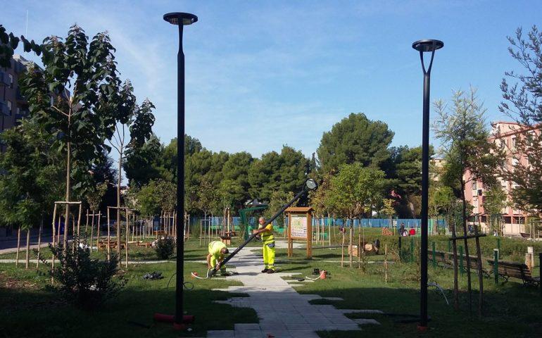 Milano trenno quinto romano nuova luce al parco aldo aniasi