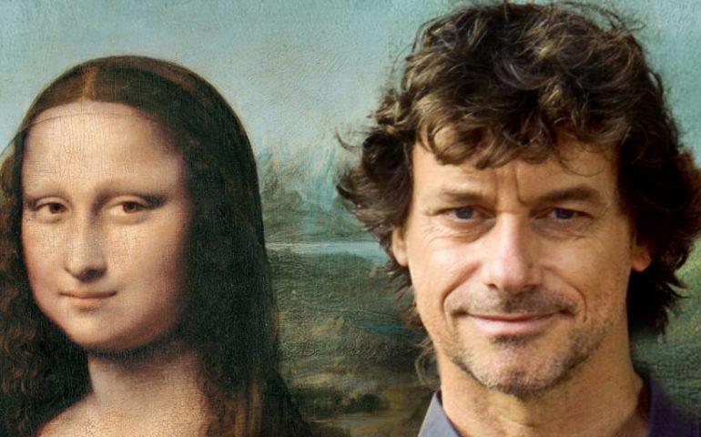 """Alberto Angela a Cagliari per il suo nuovo libro """"Gli occhi della Gioconda. Il genio di Leonardo raccontato da Monna Lisa"""""""