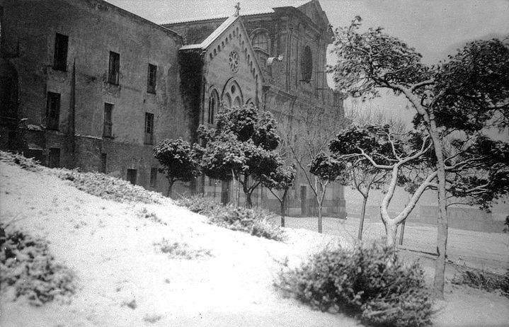 bonaria-sotto-la-neve anni 30