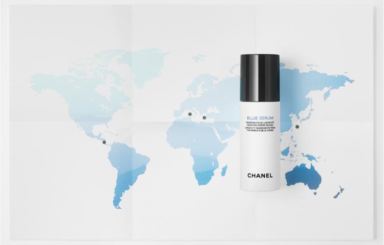 Chanel, olive sarde e un video con immagini dell'Isola per pubblicizzare il siero che combatte l'invecchiamento della pelle