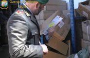 Controlli della Guardia di Finanza nell'hinterland cagliaritano. Sequestrata merce per un milione di euro