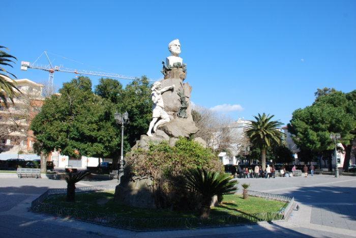 un'immagine di Piazza Quintino Sella a Iglesias