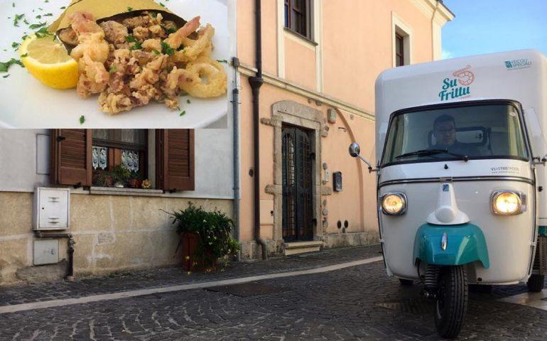 """Arriva a Cagliari, """"Su frittu"""" la prima Ape Car sarda che serve street food di qualità"""