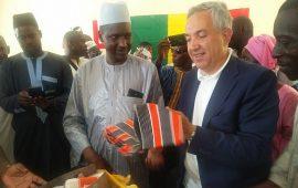 L'assessore agli Affari Generali Filippo Spanu dopo la firma dell'accordo di cooperazione e sviluppo con il Senegal