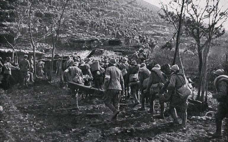 """Accadde oggi. Il 24 maggio 1915 l'Italia entra in guerra: lo ricorda la celebre canzone nota come """"Il Piave mormorava"""""""