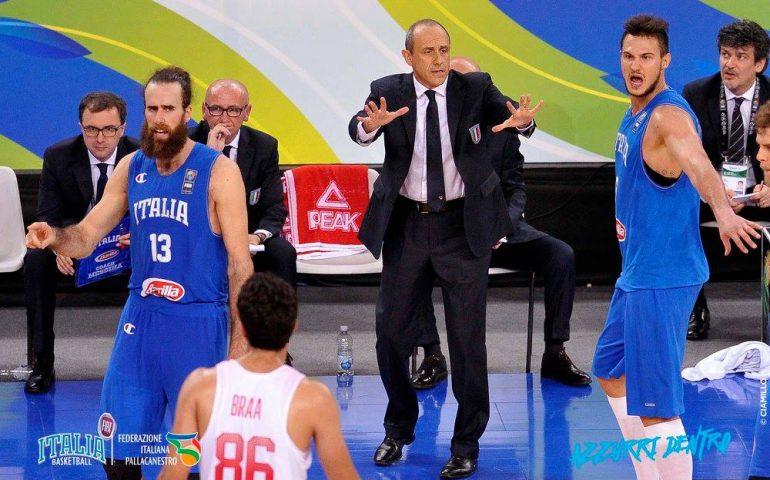 Ferragosto a Cagliari per la nazionale italiana di basket: al Palazzetto match con Nigeria, Turchia e Finlandia