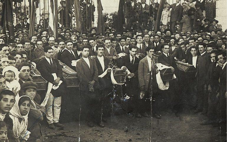 Accadde oggi. L'11 maggio 1920 le guardie regie uccidono i minatori in rivolta a Iglesias