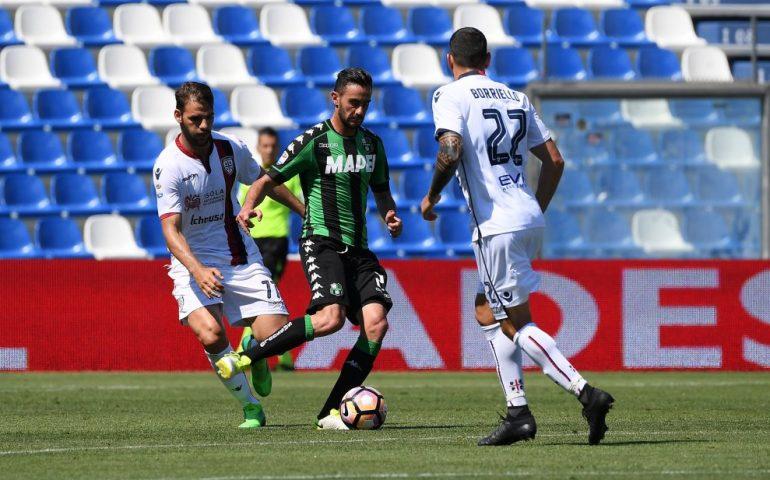 Il Sassuolo gioca a tennis col Cagliari, alla fine è 6-2