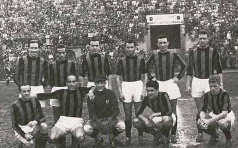 Renato Raccis, il primo vero bomber sardo. Giocò nel Milan e vide la sua carriera interrotta dalla tubercolosi