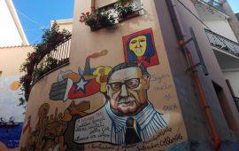 Orgosolo - murale dedicato a Salvador Allende