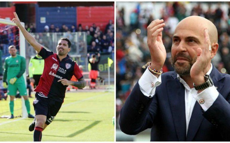 Cagliari, sprint a due per il dopo Borriello: è sfida Pavoletti-Matri