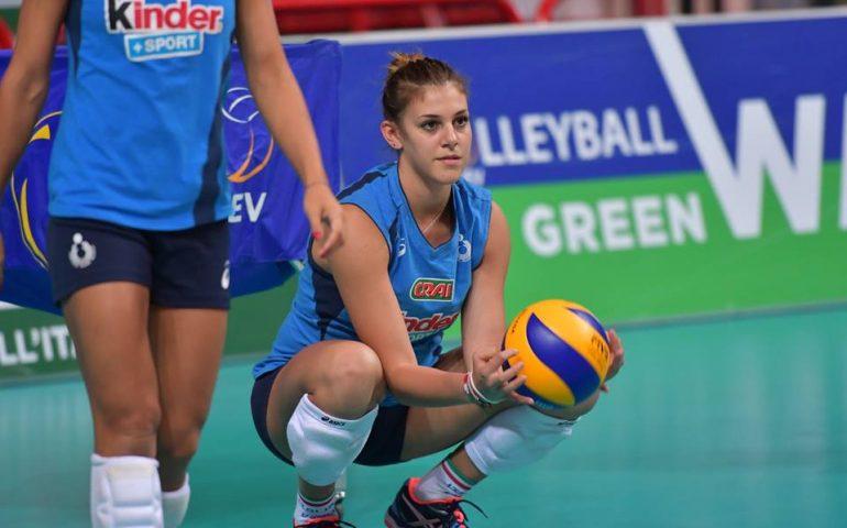 La pallavolista sarda Alessia Orro sogna in grande: