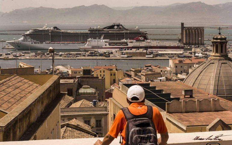 Una splendida Cagliari nello scatto di un nostro lettore