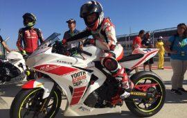 Michele Cuccu motociclista 11 anni