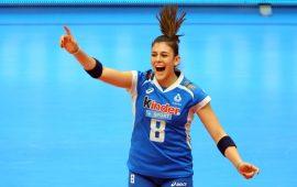 Un altro successo per Alessia Orro agli Europei di volley: l'atleta di Narbolia ha contribuito alla vittoria dell'Italia sulla Bielorussia