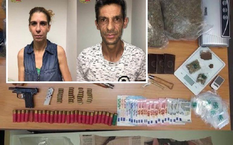 Esplosivo in casa, 2 arresti a Cagliari