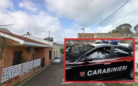 carabinieri san gavino picchia la fidanzata