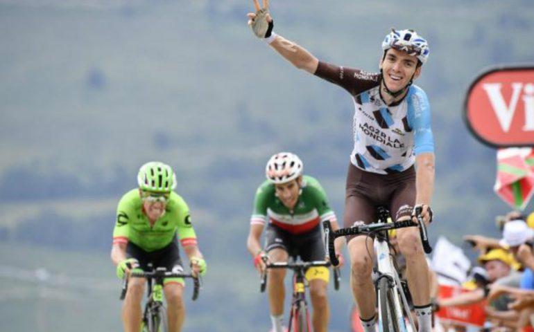Tour de France, Uran penalizzato di 20 secondi: adesso il quarto in classifica è a 55″ da Aru