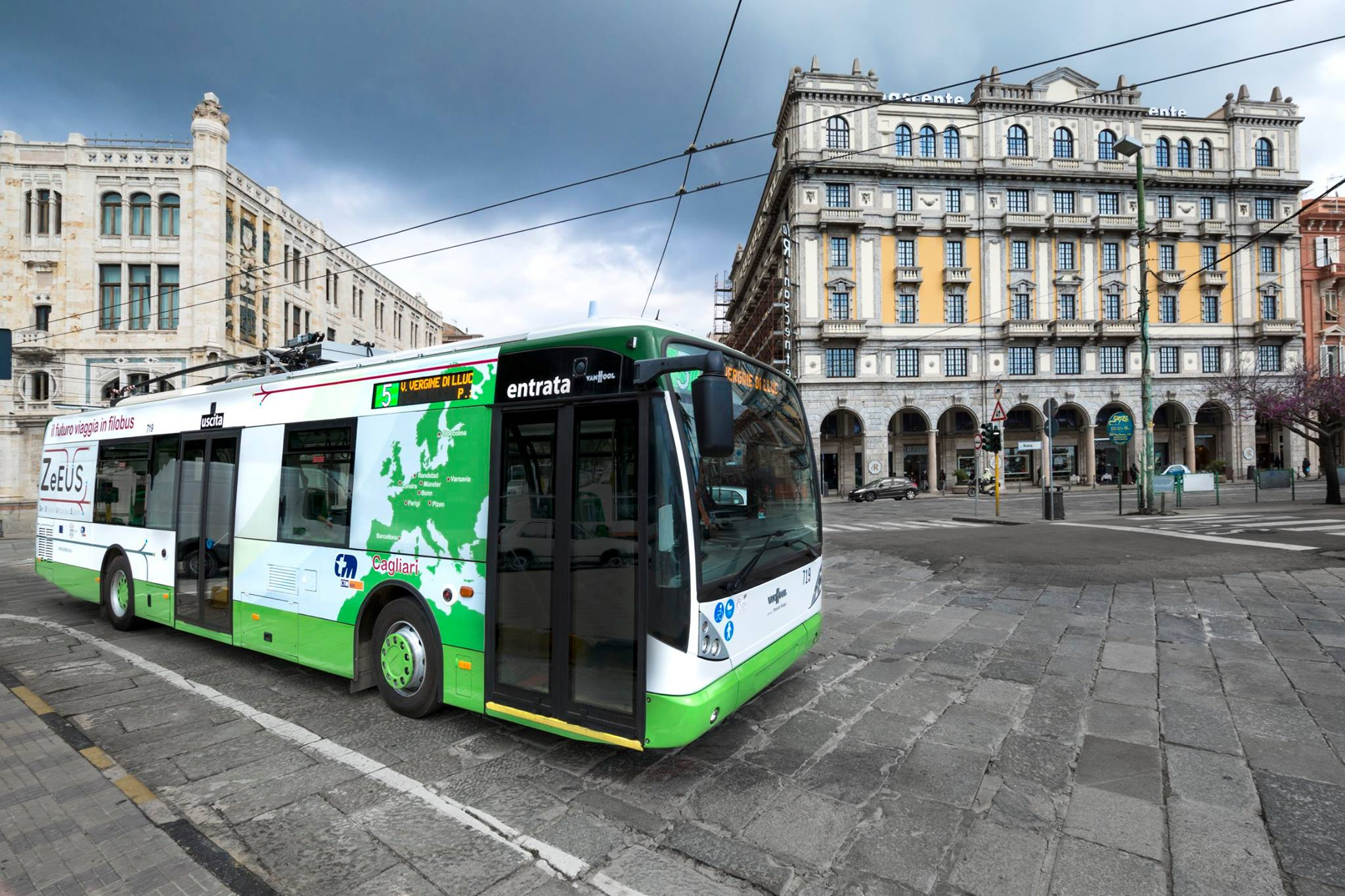 Bus linea 5 - Foto Ctm