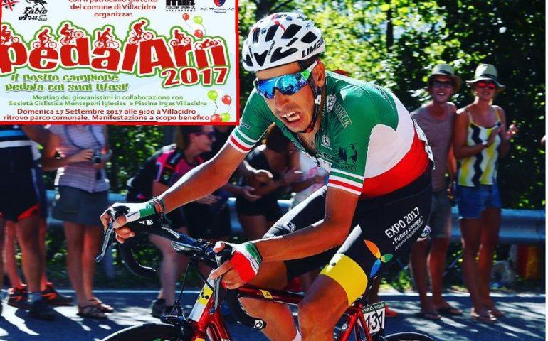 Tutti in bici con Fabio Aru. Domenica a Villacidro ci sarà Pedalaru, per una sgambata su due ruote col Cavaliere dei Quattro Mori