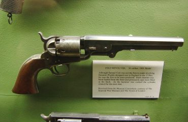 pistola atamburo broccu colt sardegna
