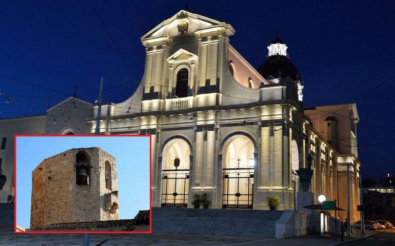 Lo sapevate? Il campanile di Bonaria a Cagliari è un'antica torre aragonese del XIV secolo