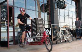 Corrieri in bici campionato europeo a Cagliari Bike Messenger
