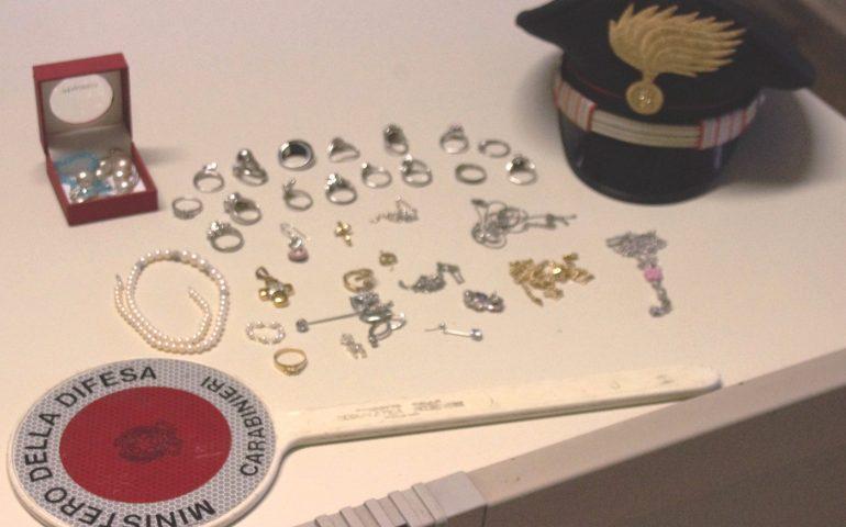 Villacidro, furto in casa di oro e gioielli: denunciati quattro pregiudicati