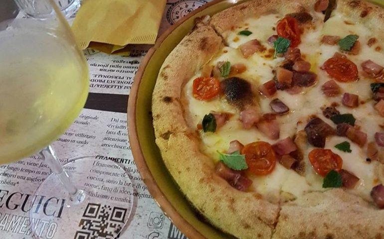 La pizza al muggine e pecorino di Framento è la miglior 'pizza all'italiana' del 2017 secondo Il Gambero Rosso