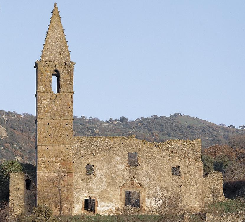Orani, antica chiesa di Sant'Andrea apostolo - Fonte www.sardegnaturismo.it