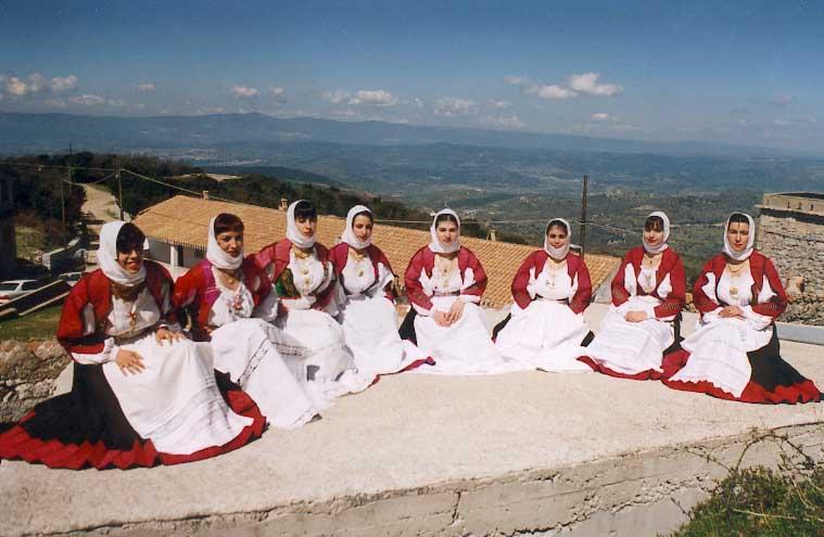Orani, costume tradizionale - Foto web
