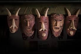 Orani, maschera tradizionale Su Bundu - Fonte www.sardegnaturismo.it