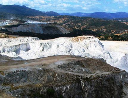 Orani, miniera di talco