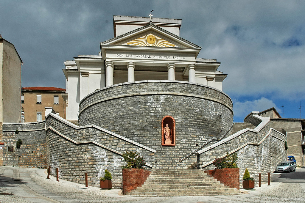 Orani, parrocchiale Sant'Andrea apostolo - Foto web