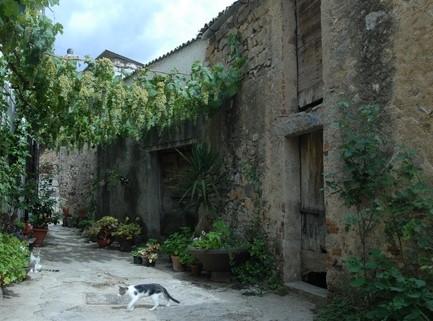Orani, particolare del centro storico - Fonte www.sardegnaturismo.it