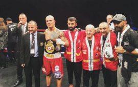 La boxe sarda sul trono europeo. A Montecarlo Alessandro Goddi conquista la cintura continentale WBA
