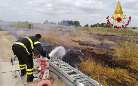 Incendio di Molentargius: la Regione installa una centralina per il monitoraggio dell'aria