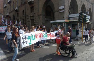 manifestazione contro riforma ospedaliera via roma2