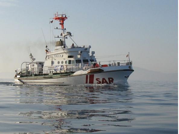 """La Minden, nave della ong tedesca """"LifeBoat Project"""" è passata per qualche ora nel porto di Cagliari"""