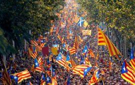 Catalogna, gli indipendentisti sardi a sostegno del referendum sull'indipendenza