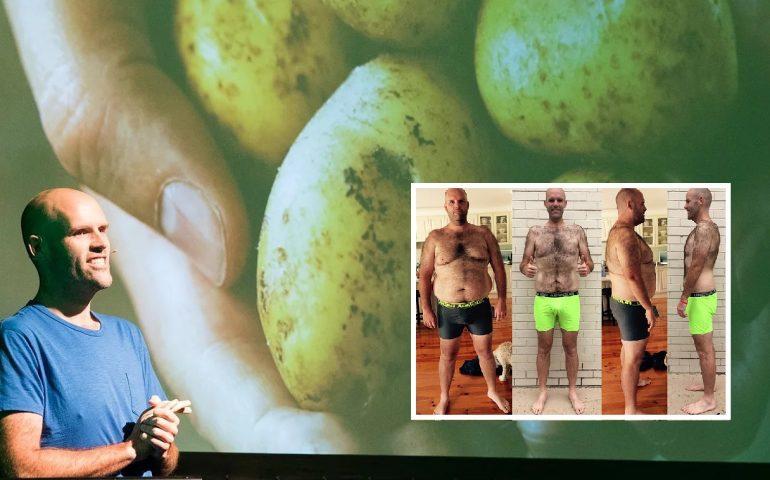 Australia, mangia solo patate per un anno e perde 50 chili di peso