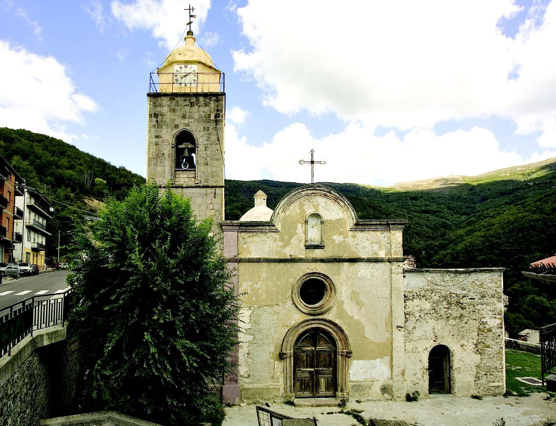 Desulo, antica chiesa parrocchiale di Sant' Antonio Abate - Foto web