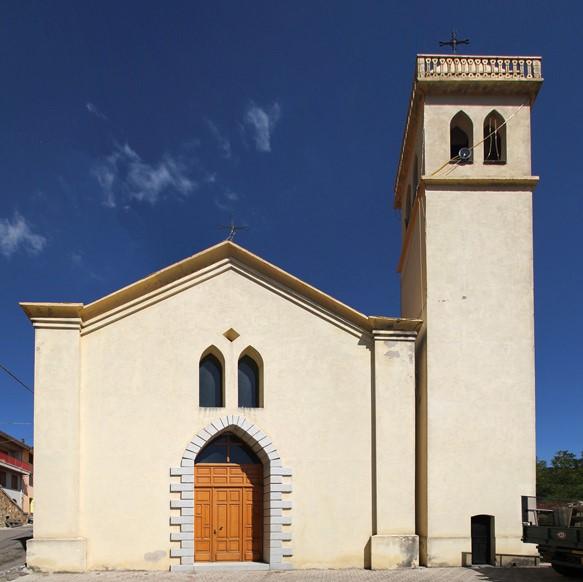Desulo, chiesa Madonna del Carmelo - Fonte www.lamiasardegna.it