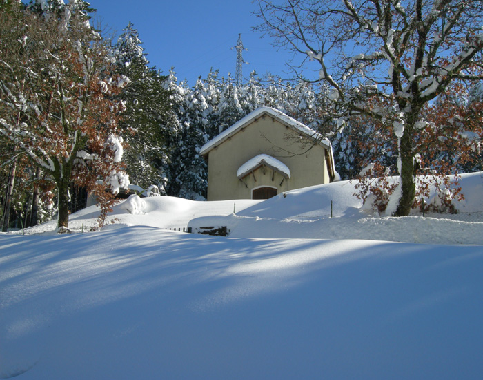 Desulo, neve a Tascusì - Fonte www.tuttodesulo.it