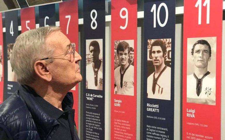 """Gigi Riva: """"Il Cagliari di Maran? Può giocarsela ovunque. I miei 75 anni? Sono sereno"""""""
