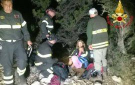 Intervento dei vigili del fuoco a Cala Luna, soccorsi due anziani escursionisti francesi