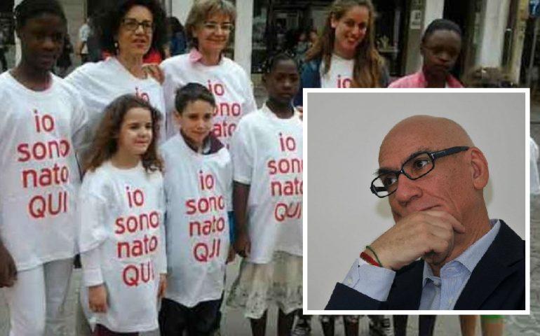 Il senatore sardo Luciano Uras partecipa allo sciopero della fame per l'approvazione dello ius soli